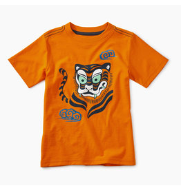 Tea Collection Woodblock Tiger Tee