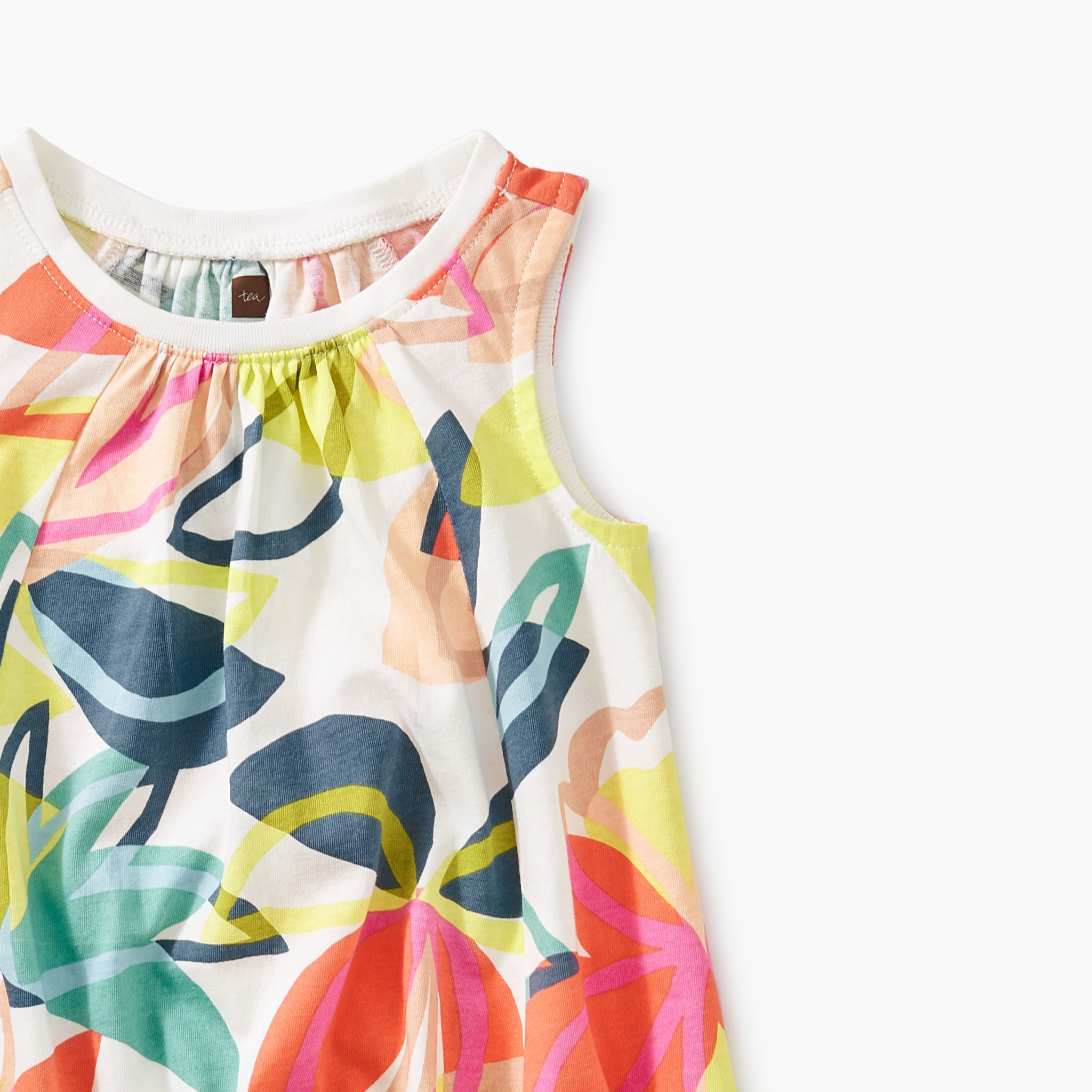 Tea Collection Tradewinds Trapeze Baby Dress