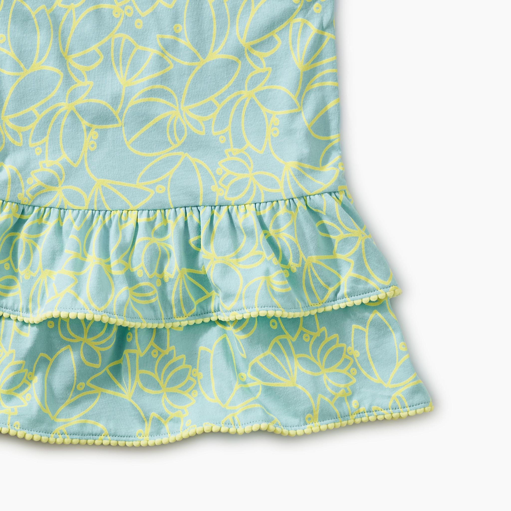 Tea Collection Robins Egg Baby Dress