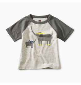 Tea Collection Martial Arts Elephant Baby Tee