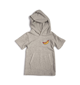 Appaman Hooded Tee - Heather Mist