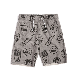 Appaman Camp Baby Shorts - Heather Grey