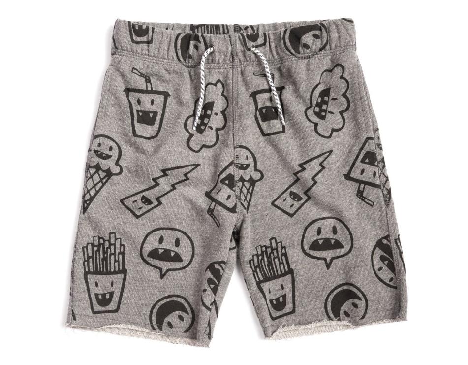 Appaman Camp Baby Shorts - Heather Grey