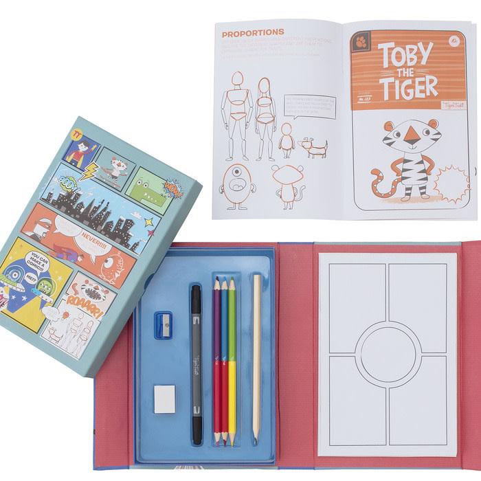 Schylling Comic Book Kit