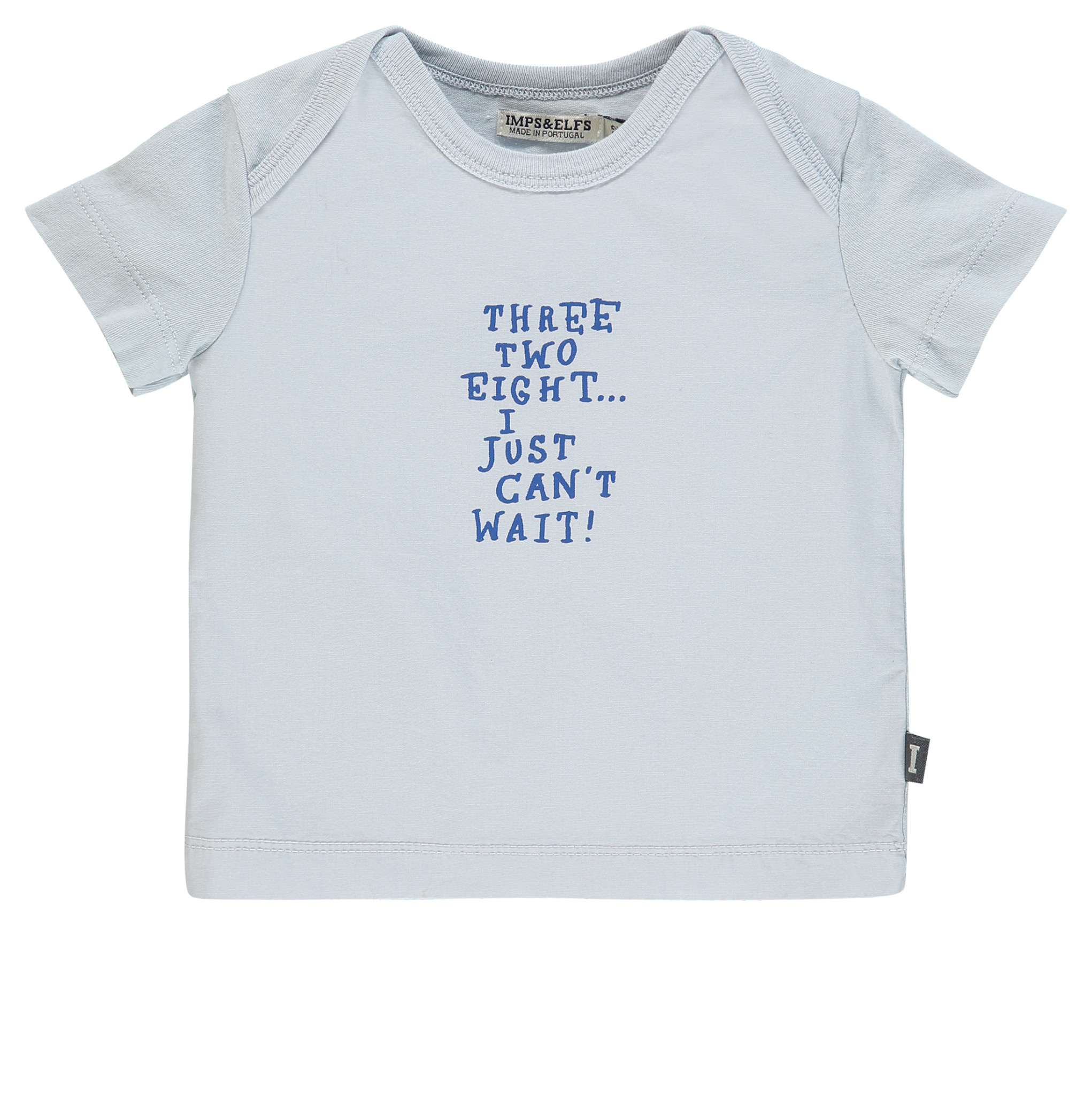 Imps & Elfs Short Sleeve T-Shirt - Grey Sky
