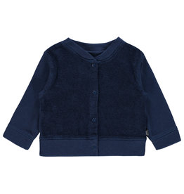 Imps & Elfs Cardigan- Workman Blue