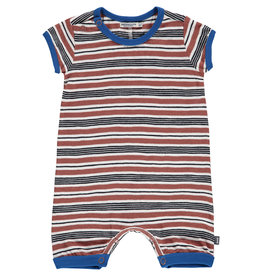 Imps & Elfs Romper- Brown Black Stripe