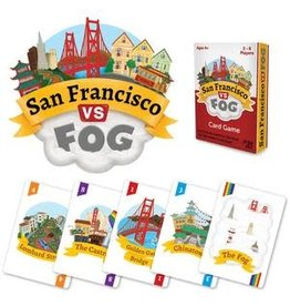 Jogo Joy San Francisco vs Fog Card Game