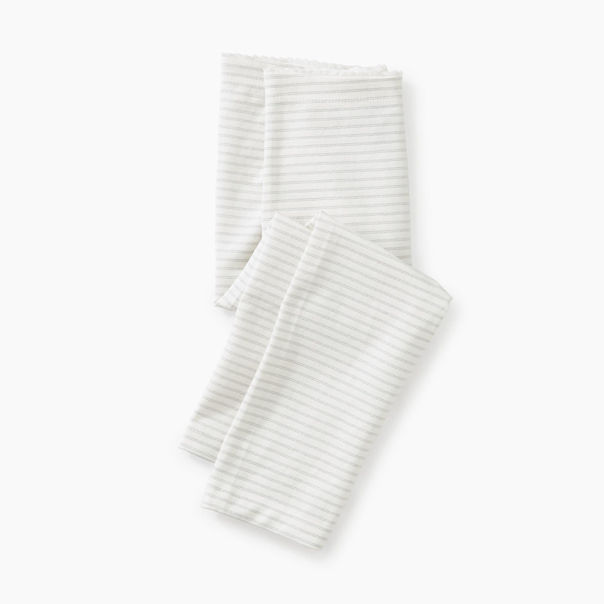 Tea Collection Sparkle Stripe Capri Leggings