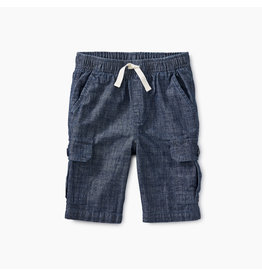 Tea Collection Chambray Cargo Shorts