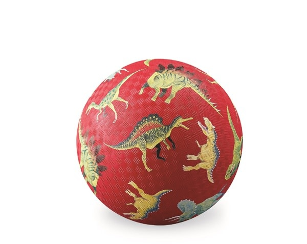 "Crocodile Creek Dinosaurs Red 5"" Ball"