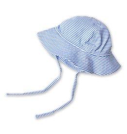 Zutano Candy Stripe Sun Hat - Periwinkle