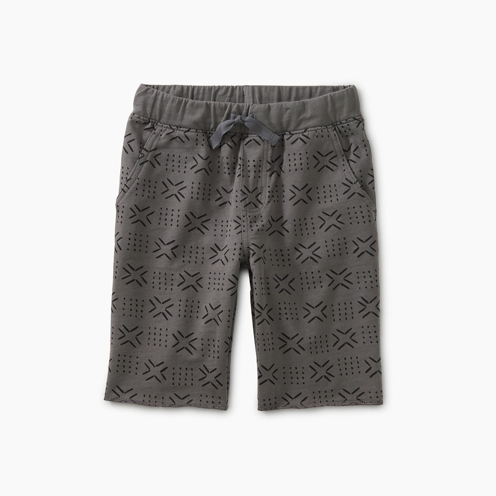 Tea Collection Basketweave Geo Shorts