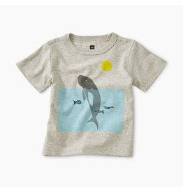 Tea Collection Manatee Baby Tee