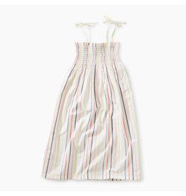 Tea Collection Paperwhite Midi-Length Dress