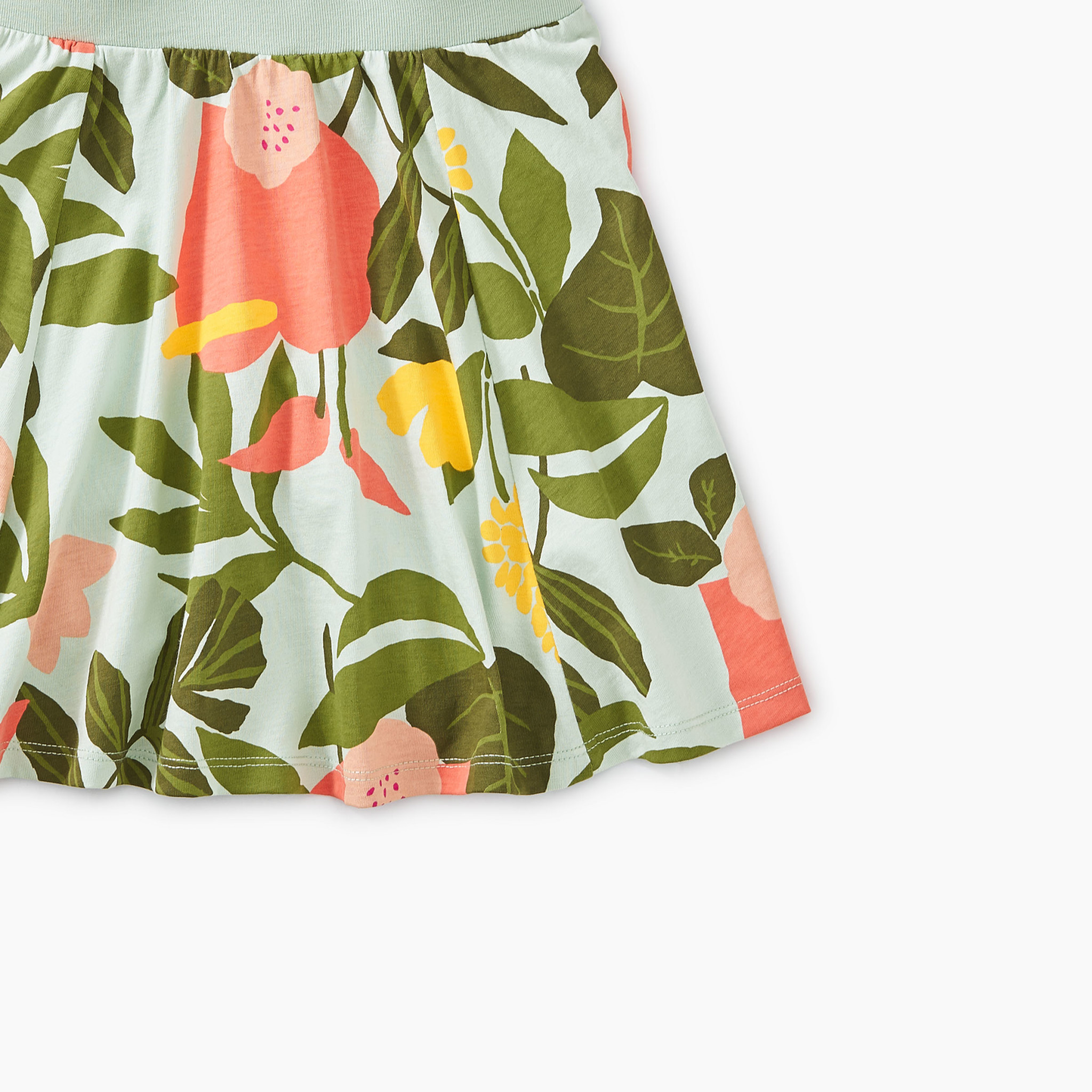 Tea Collection Tropical Garden Twirl Skort