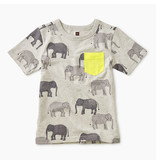Tea Collection Tons of Trunks Pocket Tee
