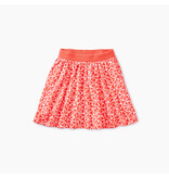 Tea Collection Tangerine Circles Twirl Skort
