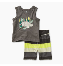 Tea Collection Rhino Tank Set