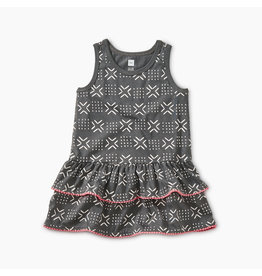 Tea Collection Pom Pom Ruffle Tank Bby Drss