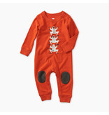 Tea Collection Monkey Knee Patch Romper