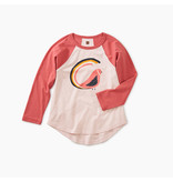 Tea Collection Quail Tail Raglan Tee