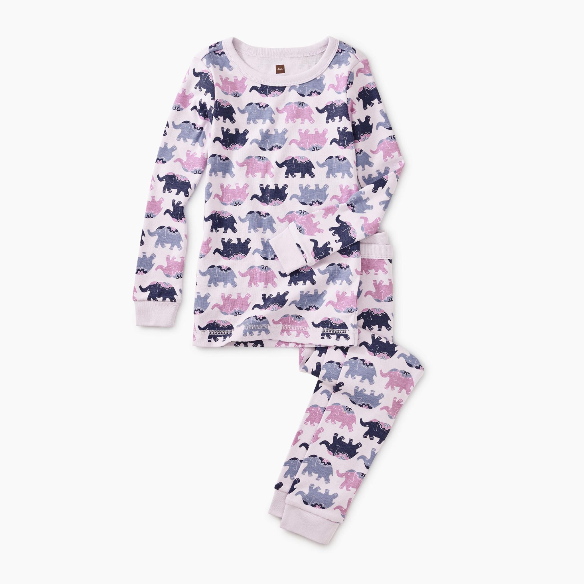 Tea Collection Elephant Elegance Pajamas