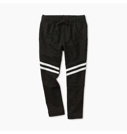 Tea Collection Black Speedy Striped Play Pant