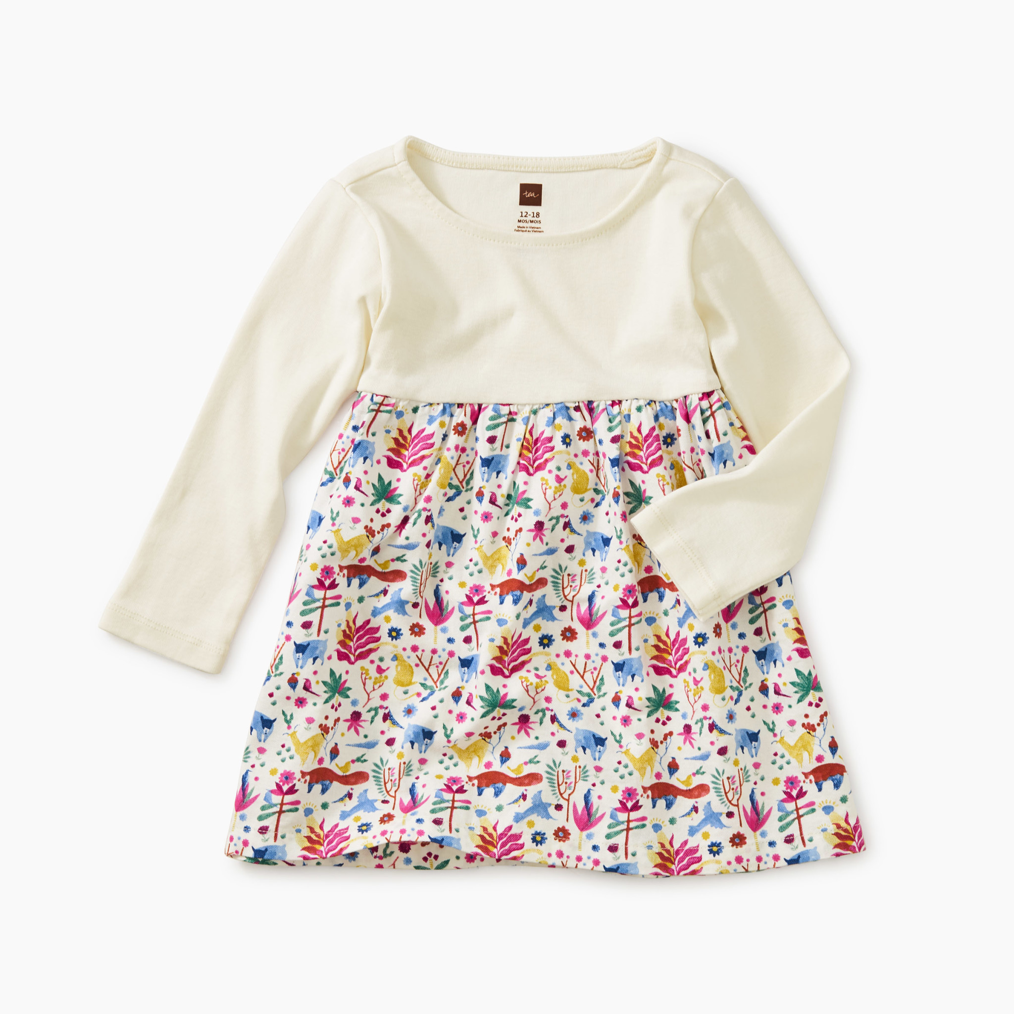 Tea Collection Mountain Menagerie Baby Dress
