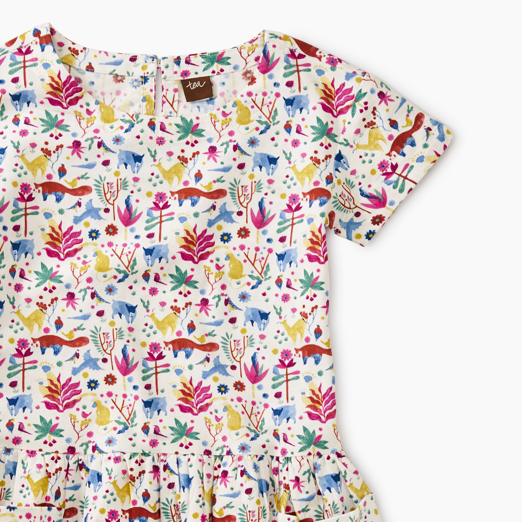 Tea Collection Mountain Menagerie Pocket Dress
