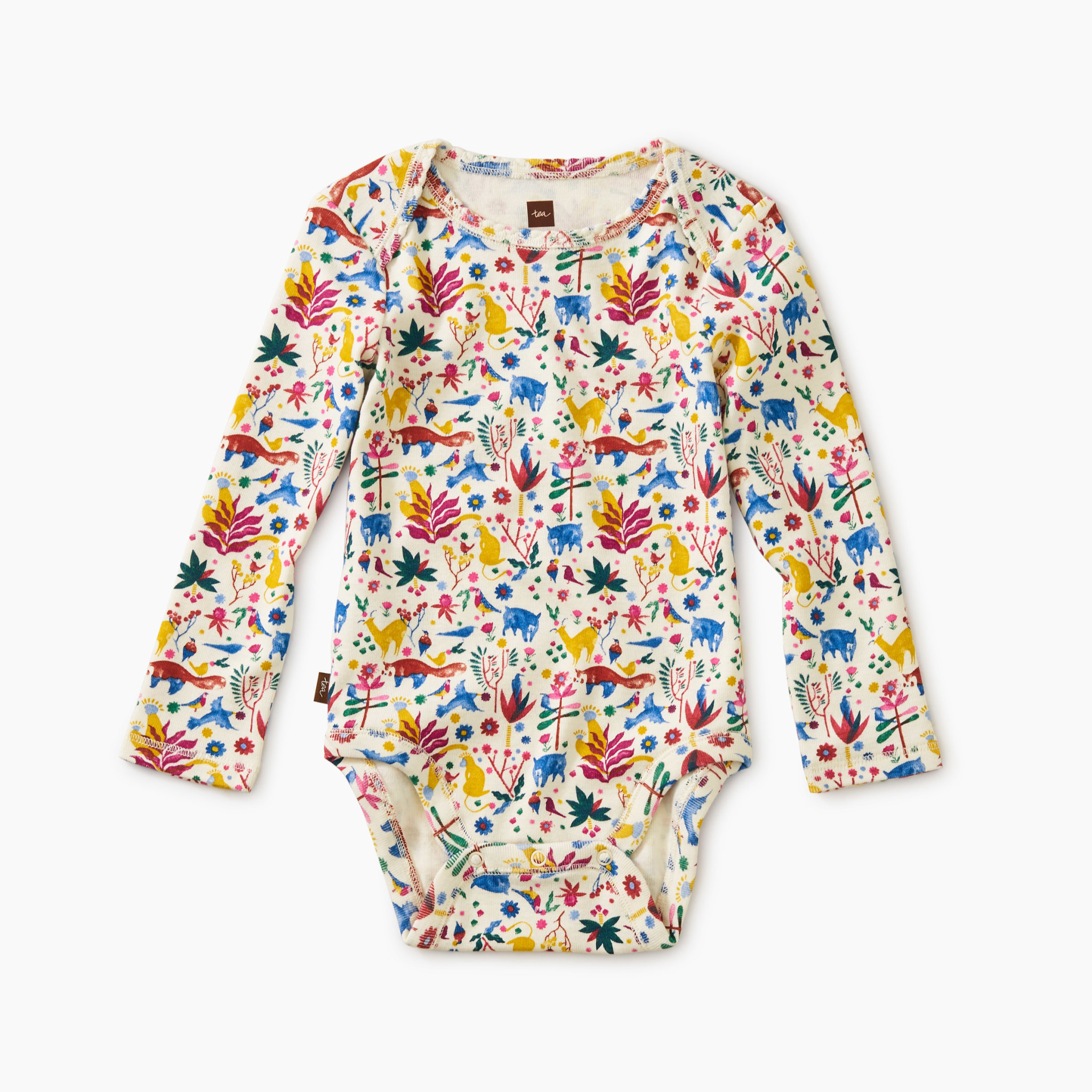 Tea Collection Chalk Baby Bodysuit