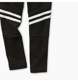 Tea Collection Black Speedy Striped Play Pant