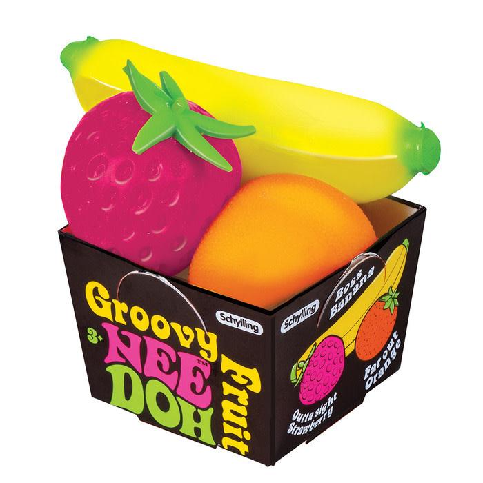 Schylling Nee Doh Groovy Fruit