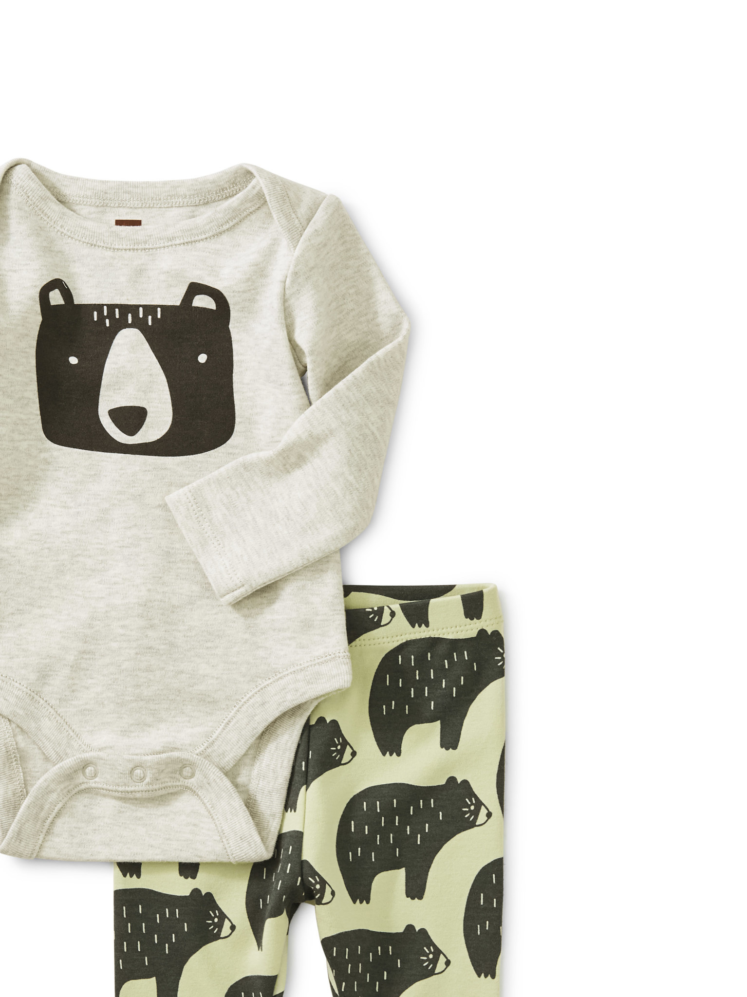 Tea Collection Cuddly Cubs Bodysuit Baby Outfit