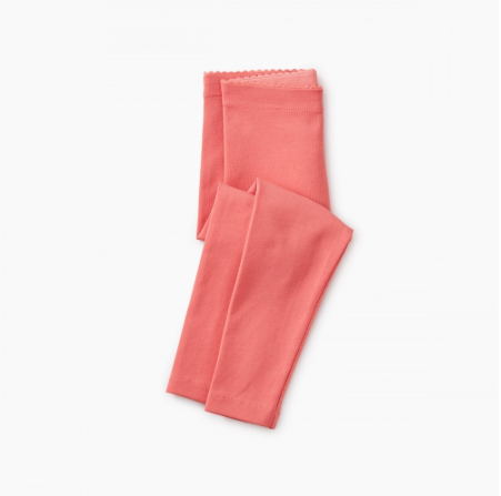 Tea Collection Pink Tulip Solid Baby Leggings