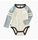 Tea Collection Explorer Colorblock Raglan Bodysuit