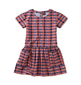 Tea Collection Plaid Woven Pocket Dress-Bhutan
