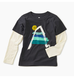 Tea Collection Painted Everest Tee