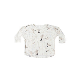 Rylee & Cru Winter Birds Longsleeve