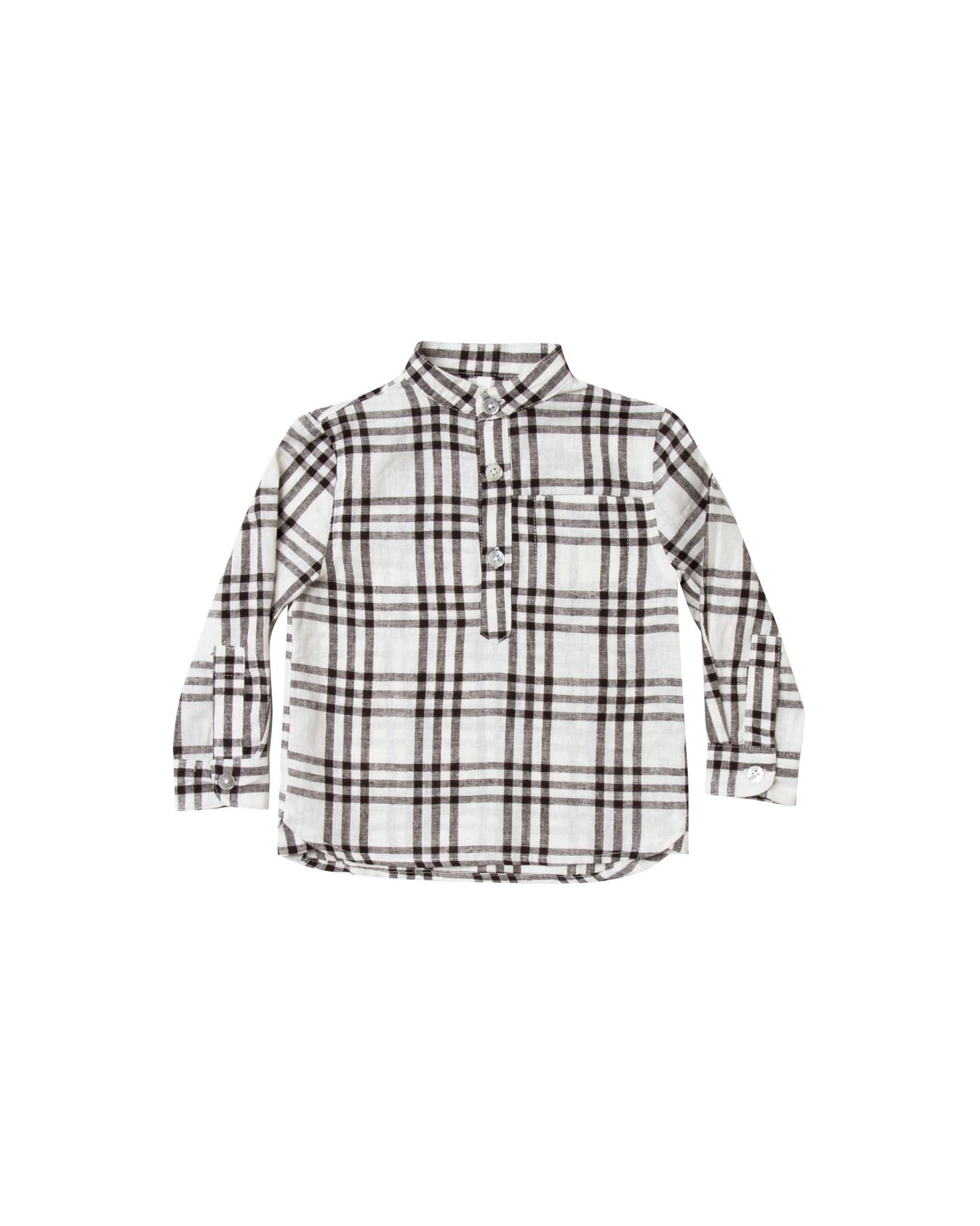 Rylee & Cru Check Mason Shirt