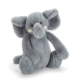 Jellycat Bashful Grey Elephant - Medium