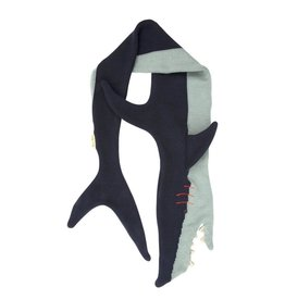 Meri Meri Knitted Shark Scarf