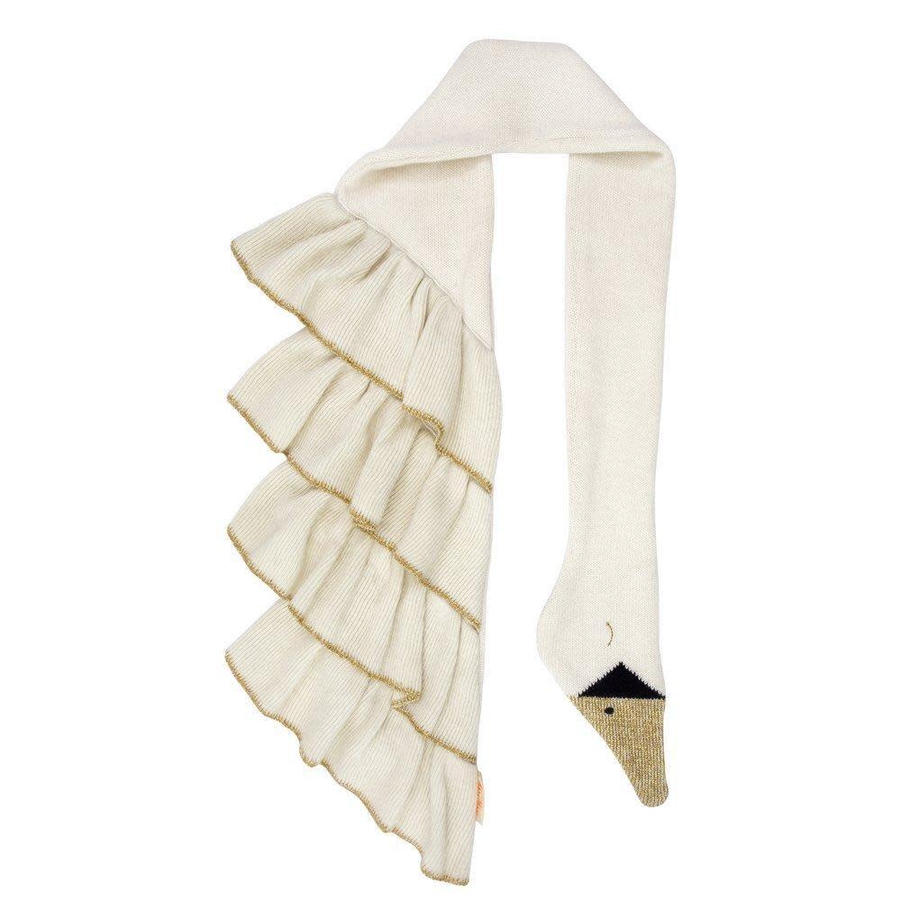 Meri Meri Knitted Swan Scarf
