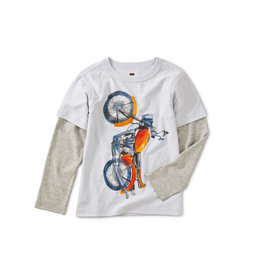 Tea Collection Vertical Moto Tee