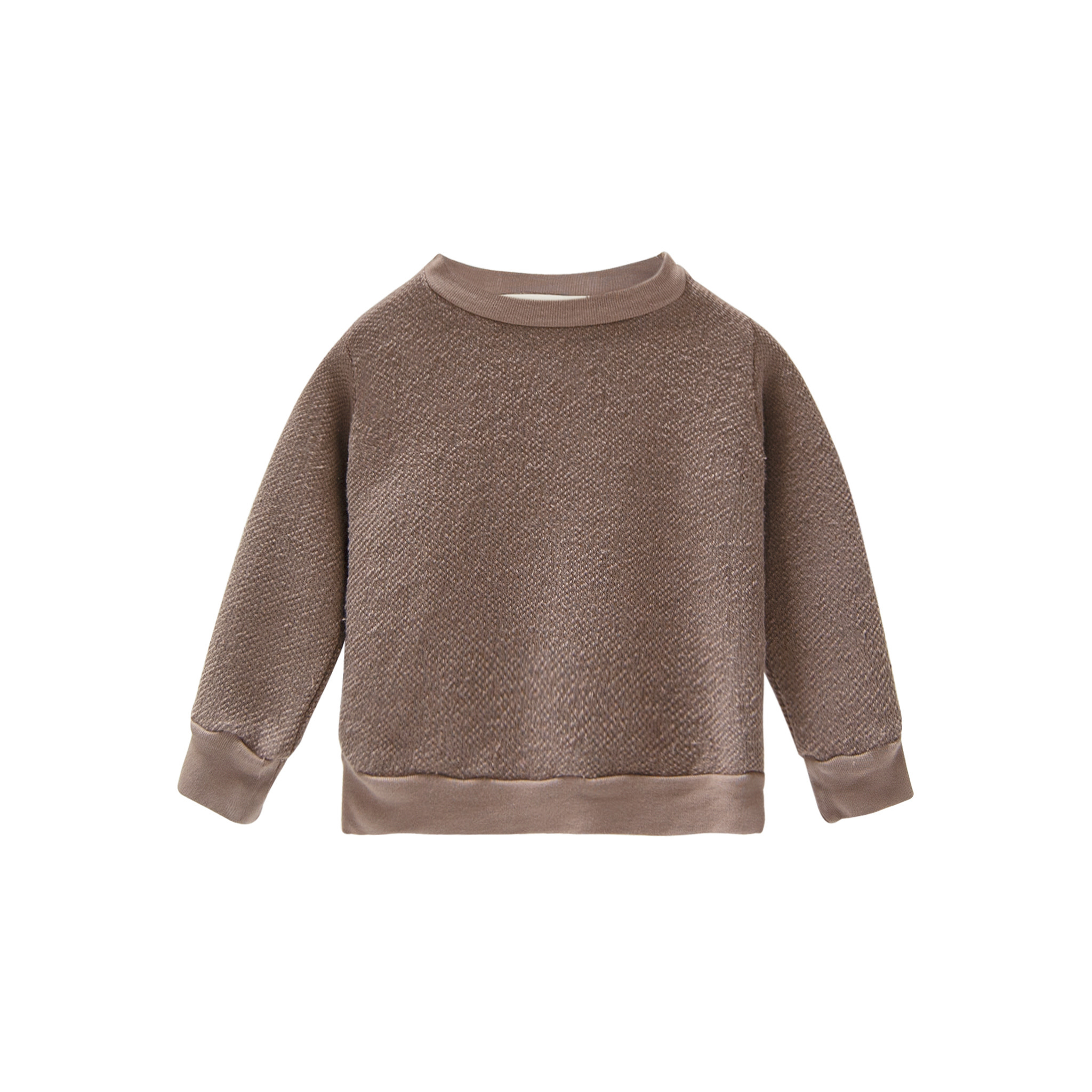 Go Gently Nation Textured Mud Crewneck