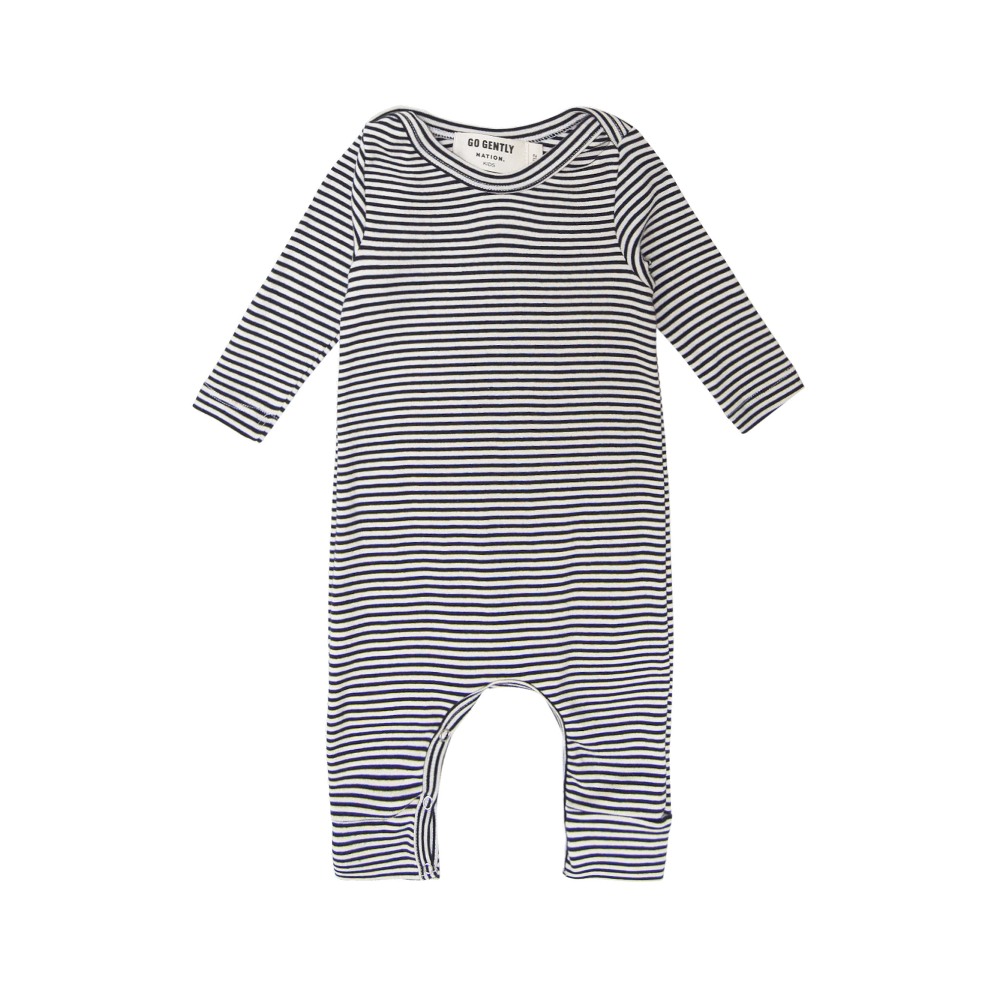 Go Gently Nation Navy Stripe Romper