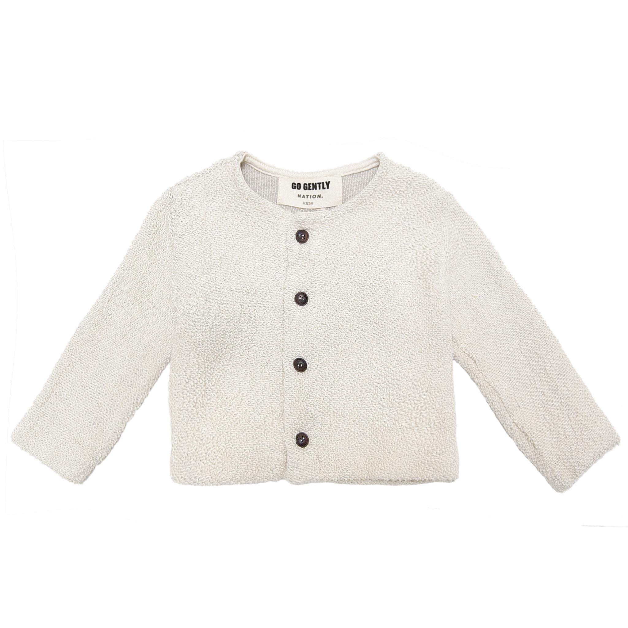 Go Gently Nation Natural Knit Coat