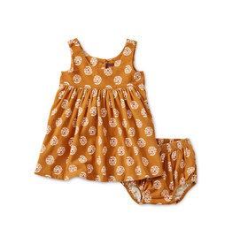 Tea Collection Sunny Floral Baby Cord Jumper