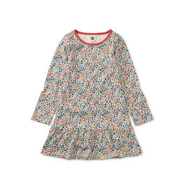 Tea Collection Sunrise Floral Ruffle Dress