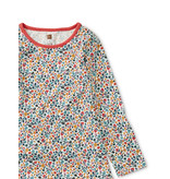 Tea Collection Sunrise Floral Ruffle Dress